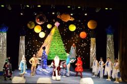 Космическое путешествие в Рождество